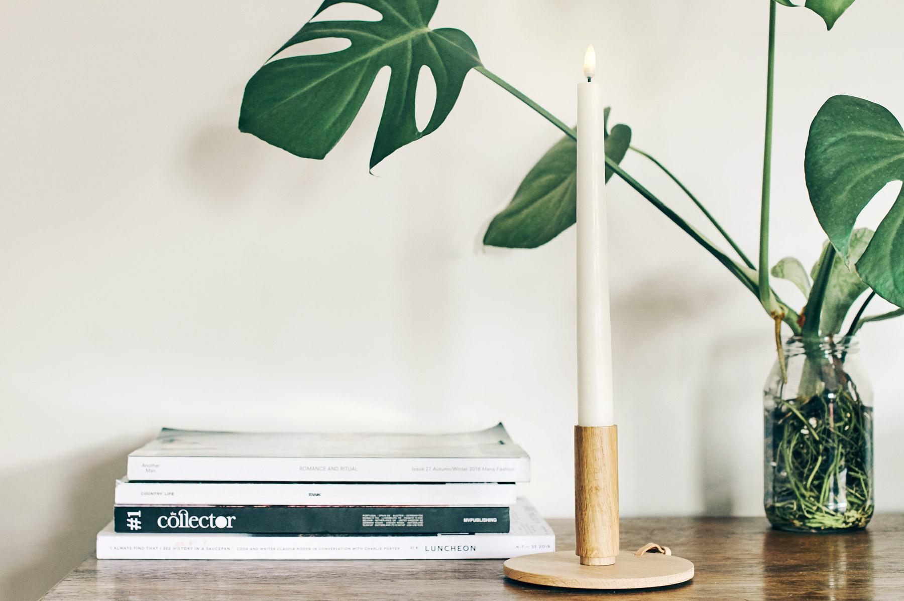 Enjoy Living Uyuni Flameless Pillar Candle