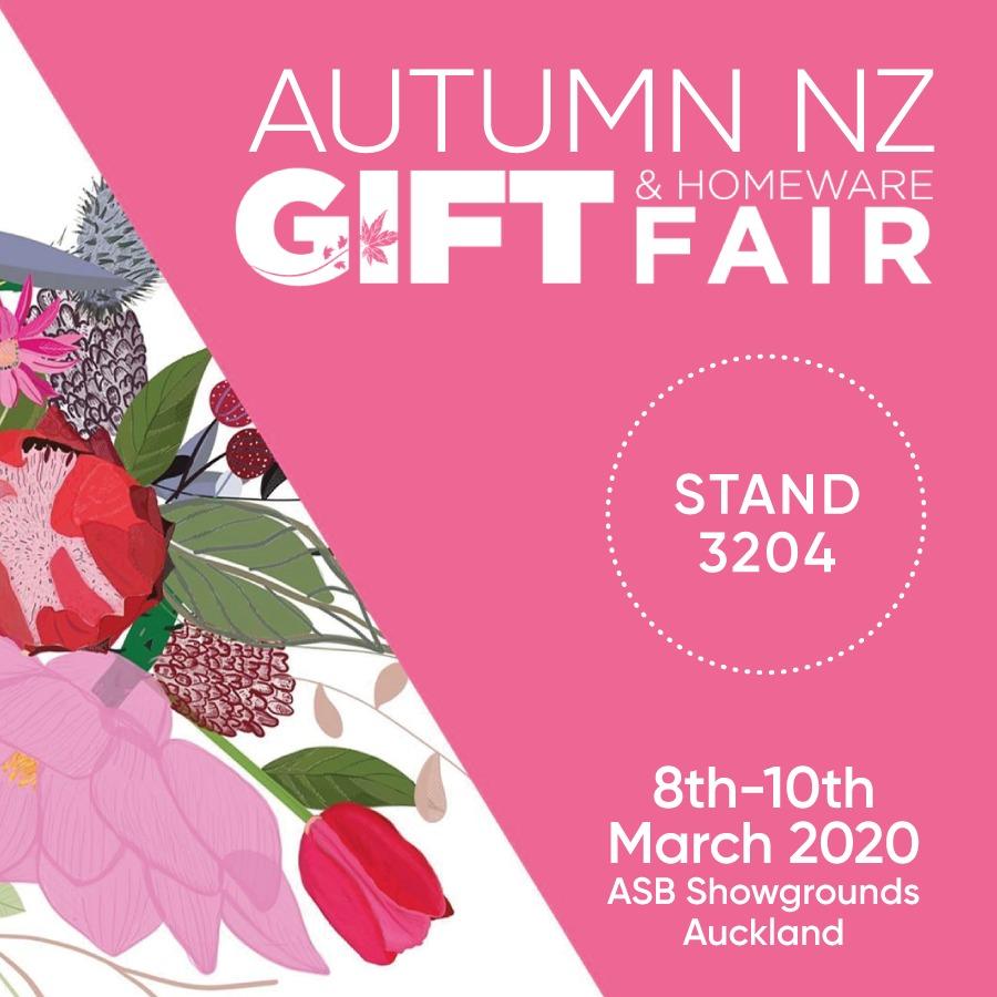 Autumn NZ Gift and Homeware Fair March 2020