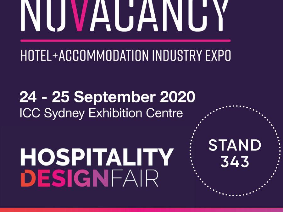 No Vacancy & Hospitality Design Fair Sydney 2020