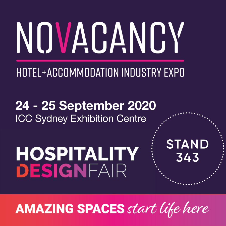 No Vacancy & Hospitality Design Fair Sydney 2020