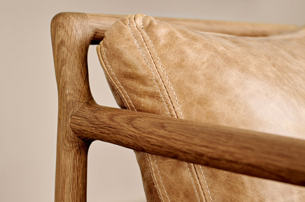 EKTA Metropolitan Hand Crafted Chair Detail