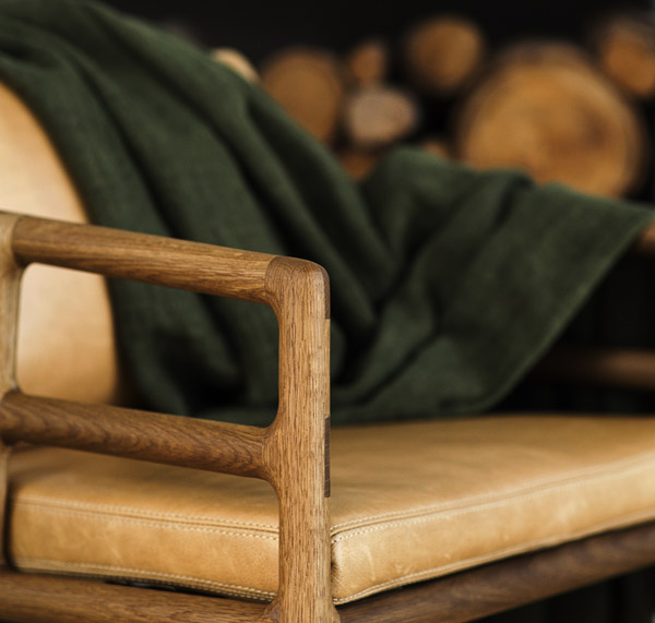 EKTA Metropolitan Chair Hand Crafted Detail