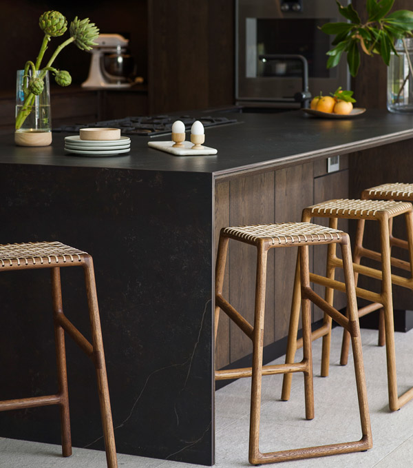 EKTA Oslo Bar Stools - Sleek Danish Style Design