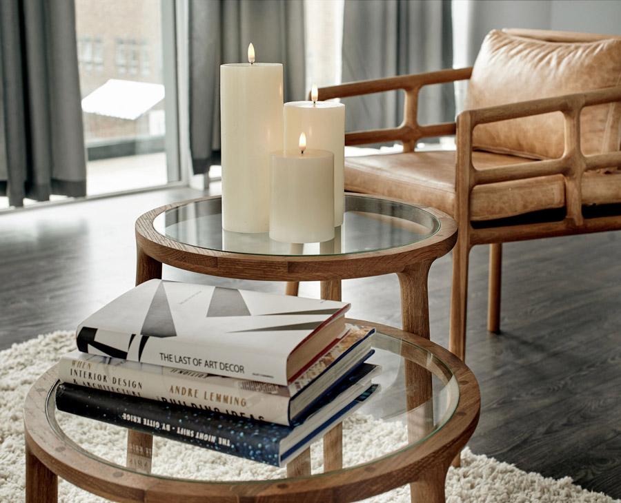 Uyuni Lighting Flameless Candles  with EKTA Furniture