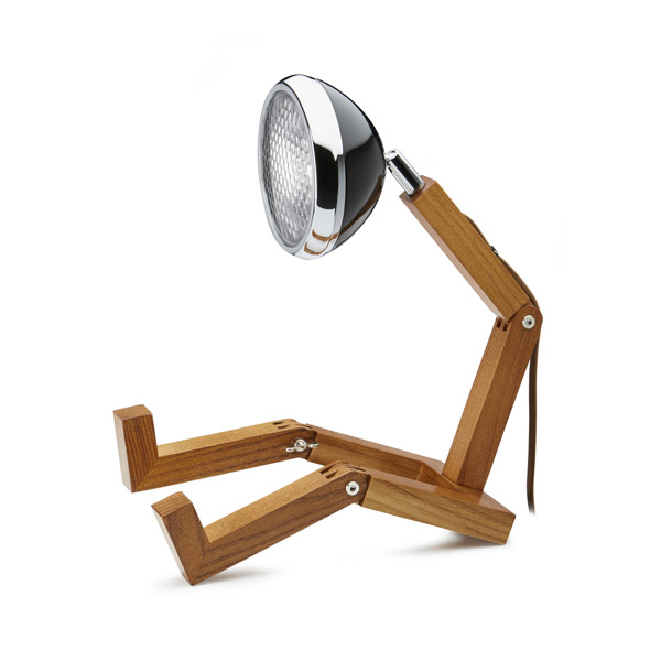 Mr Wattson Lamp Fashion Black