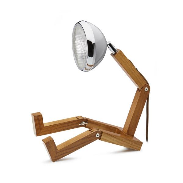 Mr Wattson Lamp Nardo Grey