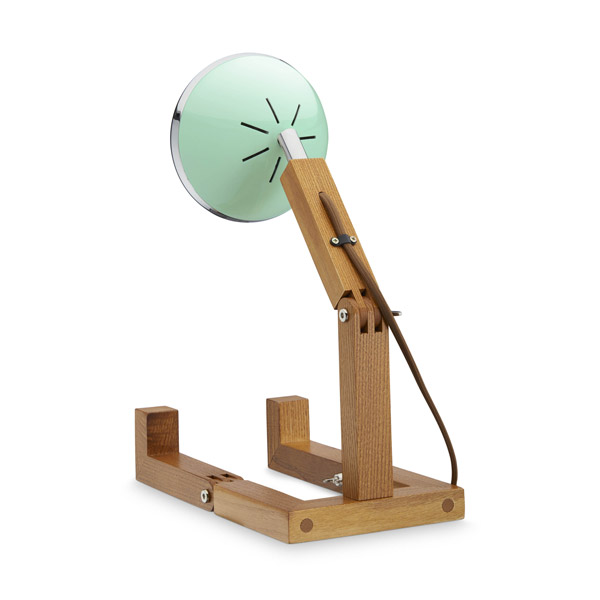 Mr Wattson Lamp Tiffany Green Back