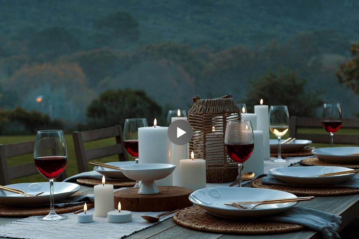 Enjoy Living Uyuni Lighting stunning outdoor dining