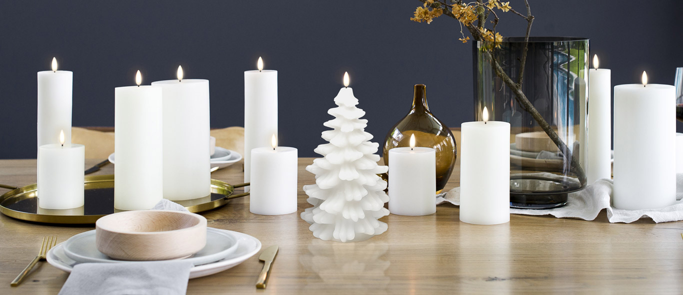 Stylish Uyuni Candles Collection