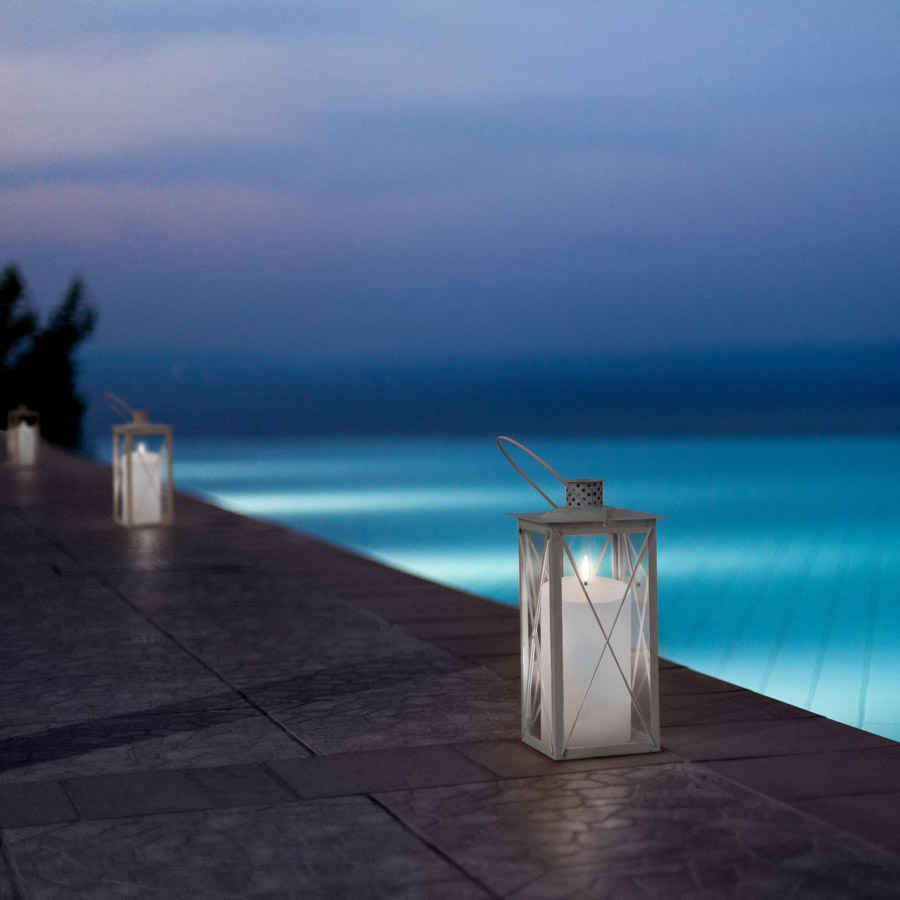 Inspired outdoor flameless candles