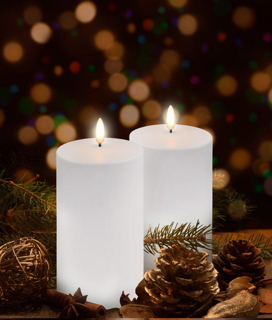 Create outdoor ambience this Christmas with Uyuni Outdoor Flameless Candles